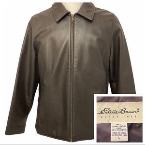 Eddie Bauer Soft Genuine Leather JacketLarge